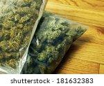 marijuana strains  bags of weed ... | Shutterstock . vector #181632383