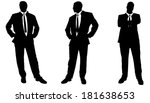 vector silhouette of... | Shutterstock .eps vector #181638653
