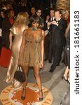 Small photo of Naomi Campbell, wearing Azzedine Alaia, at 2007 Vanity Fair Oscar Party, Mortons Restaurant, Los Angeles, CA, February 25, 2007