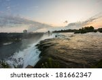 niagra falls sunrise   Shutterstock . vector #181662347