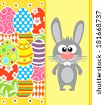 easter background card with
