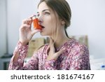 Small photo of Asthma Treatment, Woman