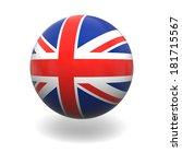 national flag of united kingdom ... | Shutterstock . vector #181715567