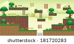 a set of vector game asset ... | Shutterstock .eps vector #181720283