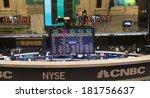 new york  ny   february 14 ... | Shutterstock . vector #181756637