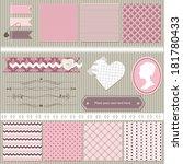 Scrapbook Design Elements Set ...