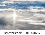 blue sky above the clouds | Shutterstock . vector #181808687