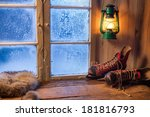 Warm Shelter In Winter Frosty...