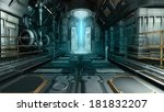 Spaceship Interior With A...