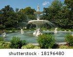 Forsyth Park Fountain In...