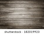 Close Up Of Gray Wooden Fence...