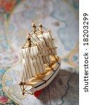 Hobby Model Of Sailboat....
