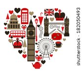 Love London Heart Symbol With...