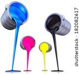 cmyk | Shutterstock . vector #182082617