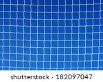 Background Of Soccer Net...
