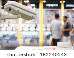 Cctv Camera Operating Inside A...