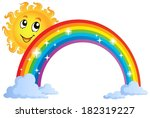 image with rainbow theme 8  ... | Shutterstock .eps vector #182319227