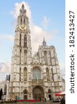 Cathedral of Our Lady in Antwerpen, Belgium (Onze-Lieve-Vrouwek cathedraal)