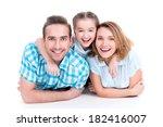 caucasian happy smiling young...   Shutterstock . vector #182416007