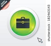 case sign icon. briefcase...