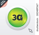 3g sign icon. mobile...