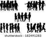 childrens  | Shutterstock .eps vector #182491283