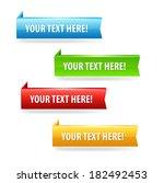 sale banners. raster copy. | Shutterstock . vector #182492453