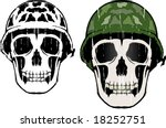army man | Shutterstock .eps vector #18252751