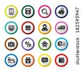 Set Color Flat Buttons  Symbol...