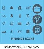 finance  money  economics ... | Shutterstock .eps vector #182617697