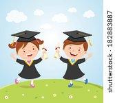 academia,academic,adult,boy,cap,celebration,ceremony,certificate,certification,cheering,childhood,children,concept,congratulation,education