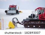 Snow Grooming Machine In Sierr...
