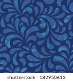 dark abstract seamless  pattern | Shutterstock .eps vector #182950613