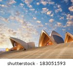 Постер, плакат: Sunset over Opera House