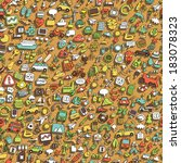symbols seamless pattern ... | Shutterstock .eps vector #183078323