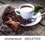 chocolate chip cookies and... | Shutterstock . vector #183137543