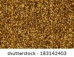 gold seamless shimmer... | Shutterstock .eps vector #183142403