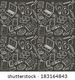 business doodle  | Shutterstock . vector #183164843