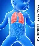 medical illustration showing... | Shutterstock . vector #183279923