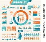 infographics elements. vector...   Shutterstock .eps vector #183308423