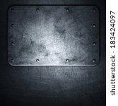 metal background | Shutterstock . vector #183424097