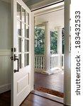vertical wide  shot of an open  ... | Shutterstock . vector #183432533