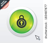 lock sign icon. locker symbol....