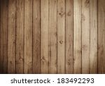 Old Brown Wood Plank Wall...
