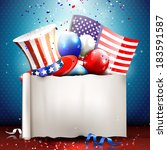 independence day   vector... | Shutterstock .eps vector #183591587