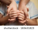 mutual aid in a family   Shutterstock . vector #183631823
