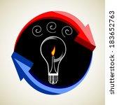 business idea concept | Shutterstock . vector #183652763