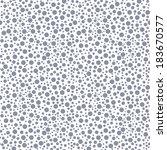 polka dot seamless pattern.... | Shutterstock .eps vector #183670577