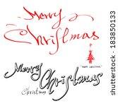 christmas | Shutterstock .eps vector #183850133