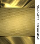 gold background for design of... | Shutterstock . vector #183904907